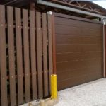 Заборная доска из древесно-полимерного композита (ДПК)