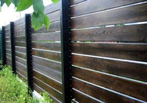 Как сделать дощатый забор своими руками из необрезных досок, а также из обрезных и старых