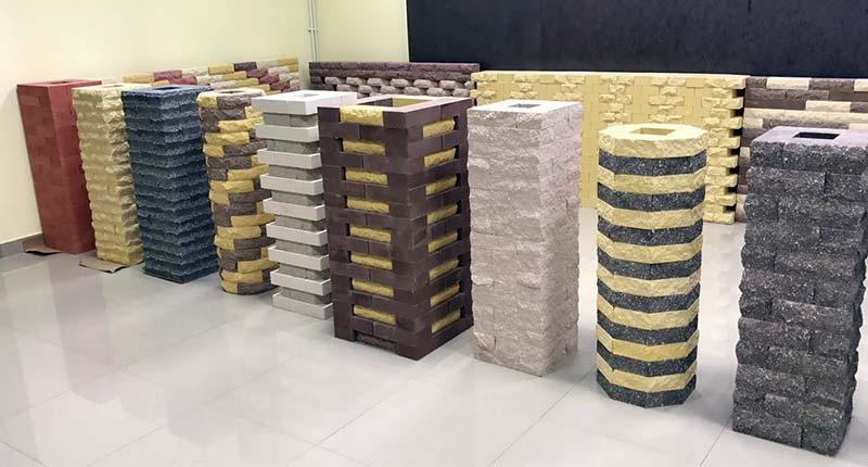 Рваный кирпич 24 фото камень для наружной отделки забора бетонная и ложковая плитка